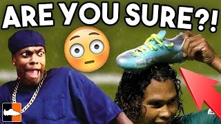 What are they wearing...?? Oddest Football Boot Choices
