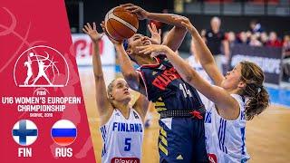 Finland v Russia - Full Game - FIBA U16 Women's European Championship 2019