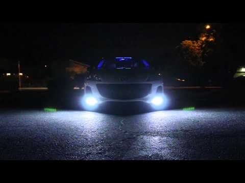 Dual Color LED DRL With Turning Signal And Emergency Flash