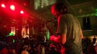 Rafael Nazareth e Rodrigo Sha na festa da Pink Elephant na Ilha Fiscal 7 jan 2012