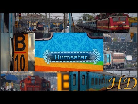 Beautiful& Attractive Humsafar Express | A Complete Journey Compilation | Secunderabad to Nagpur