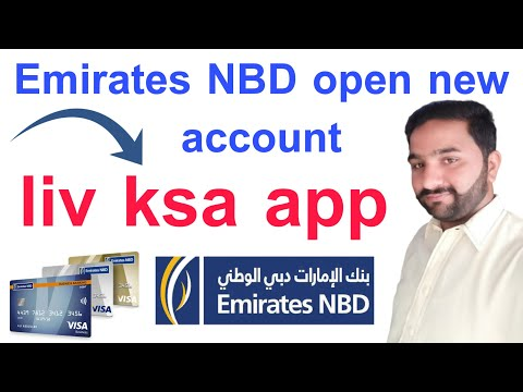 Emirates NBD open new account with liv ksa app easily Urdu/Hindi