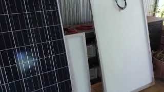48 volt Off Grid System.  New Solar panels to test