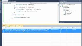 Visual C# Lesson 09 Classes and OOP Part 1