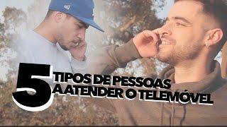 5 TIPOS DE PESSOAS A ATENDER O TELEMÓVEL - C/ROBINHO