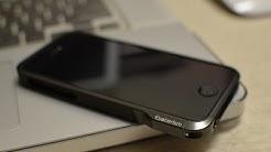  iPhone 5/5S/SE - Solid Aluminum Bumper case - Esoterism Moat 5! - Phantom Grey