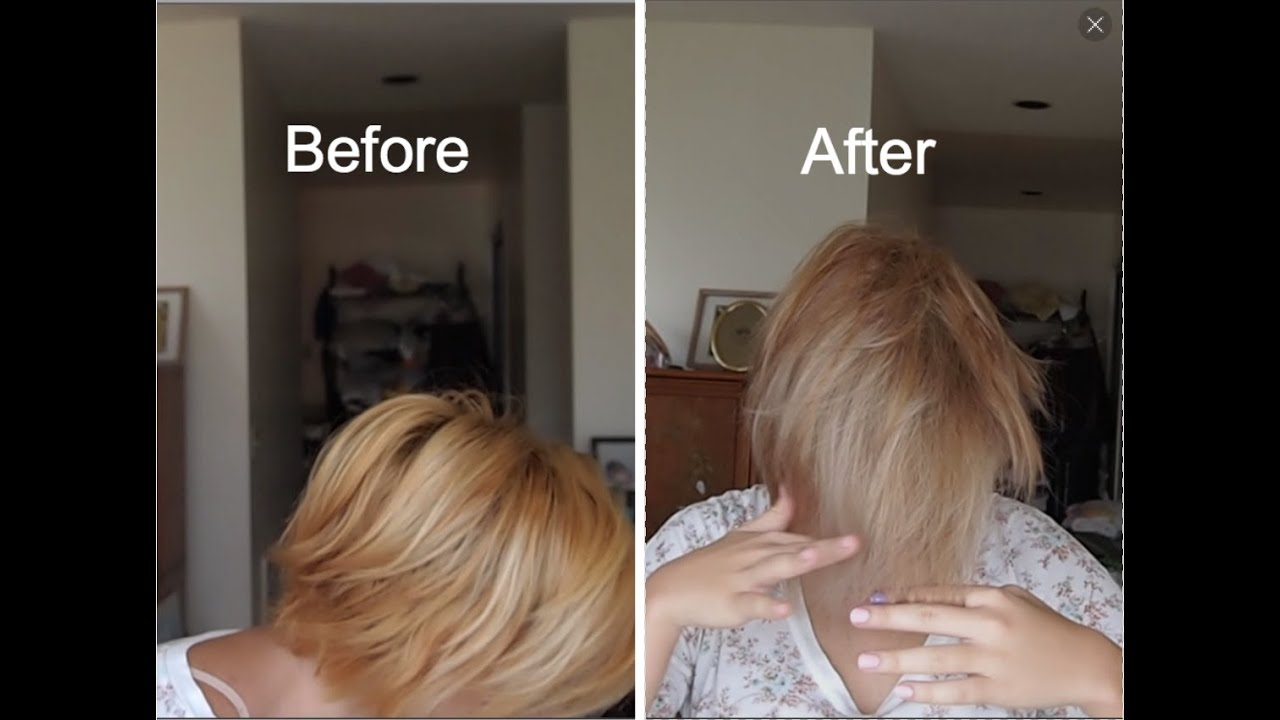 Quot Toning Quot Hair W Demi Permanent Color Youtube