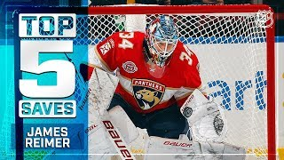 Top 5 James Reimer saves from 2018-19