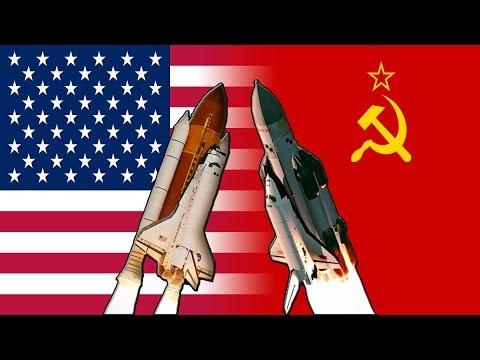 Холодная война, начало космической гонки, первые полеты в космос!