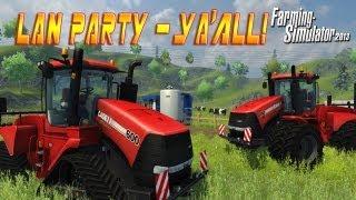 Farm Simulator 2013 with Freddiew and Corridordigital on LAN Party - NODE
