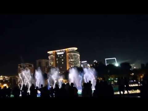 Seven Beauties Musical Fountain at Baku