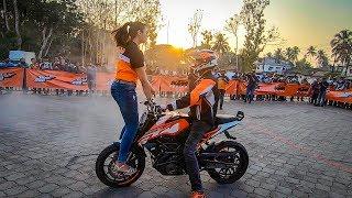 KTM Stunt Show Manipal 2019 || DFG Stunt group