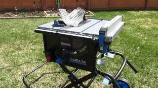 Delta 36-6020 Portable Table Saw with Stand Review