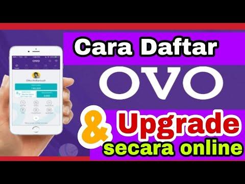 Gampang Bgt!!! Upgrade OVO Secara Online & Cara Daftar Cepat Dan Mudah