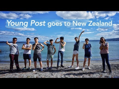 Young Post goes to New Zealand