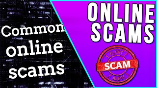 ONLINE SCAM....COMMON ONLINE SCAMS!!! (PART 5 2019!!!)