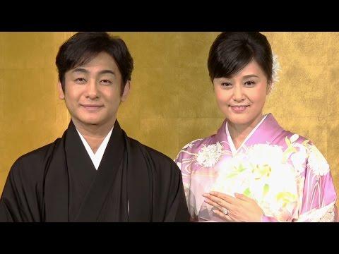 片岡愛之助・藤原紀香 結婚『交際はマスコミ報道のおかげ』