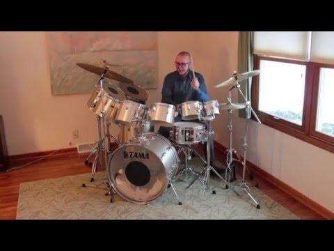 Tama Imperialstar Concert Tom Set –Vintage Drums – Demo