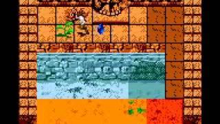 Nintendo GBC INDIANA JONES The Infernal Machine Level I Part 1