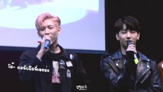 Fancam  161003 Got7 노량진 팬싸인회 - Singing Prove It + Mayday & Ending  With Th