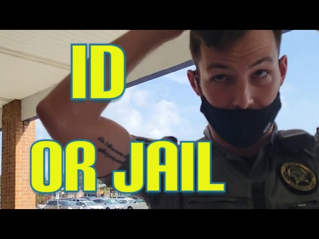 Cop demands ID and gets refused Cops don't know the law 1st amendment audit fail!