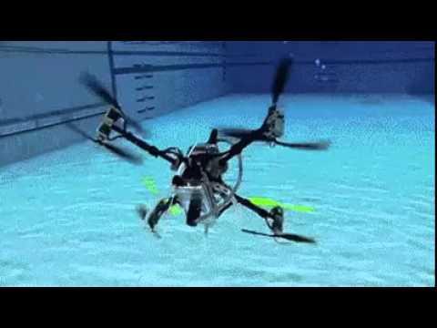 Amphibious drone - land, underwater