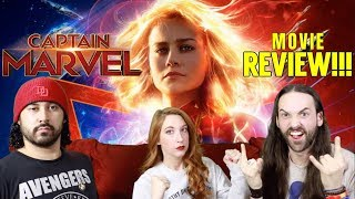 CAPTAIN MARVEL - MOVIE REVIEW!!!