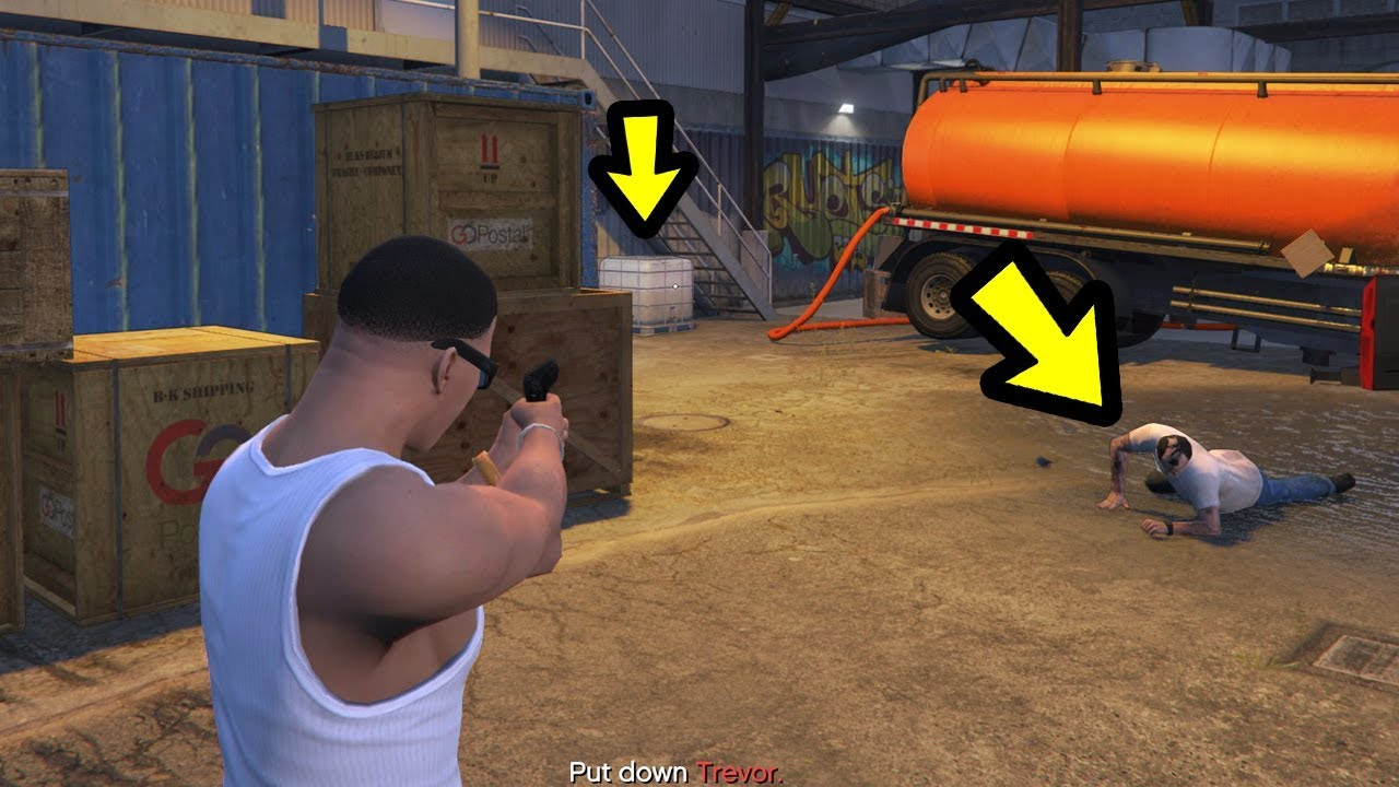 Download How to Save Trevor after the Final Mission