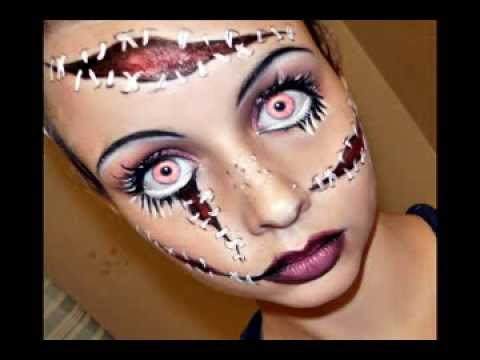 Halloween Series 2011 Living Doll Makeup Tutorial - YouTube