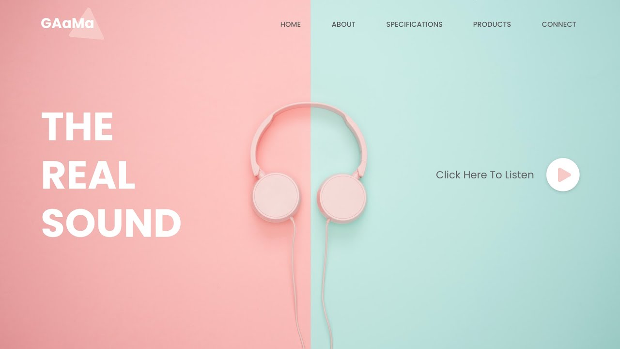How To Make A Music Website Using HTML CSS JavaScript | Add Music In HTML Website