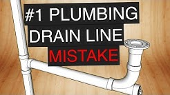 The #1 DWV Plumbing Mistake (and how to prevent it).