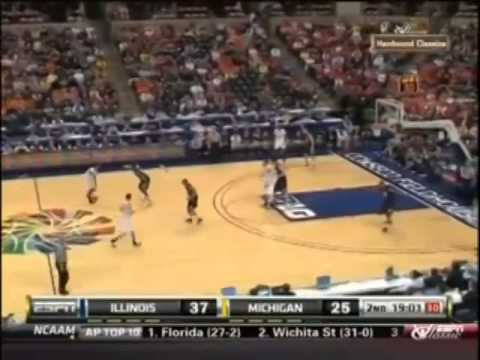 2011 BIG Tournament Quarterfinals Michigan vs. Illinois