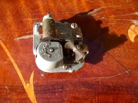 Antique Lador Swiss Music Box Carillon for Clocks   ** See Video **