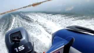 Yamaran T330 и Yamaha 15 FMHS(02.05.2013 Варваровское водохранилище Волгоградской области. Ветер практически отсутствует, волна нулевая...., 2013-05-02T17:43:00.000Z)
