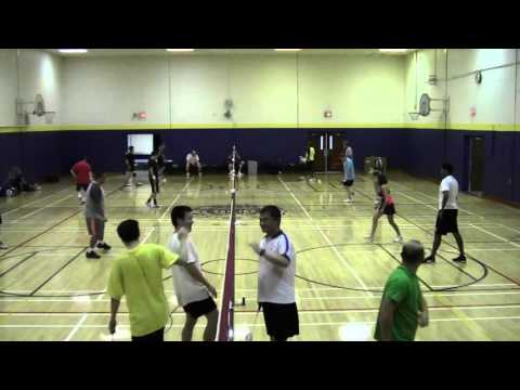 Central Jersey Badminton Club sample games - 2015-11-11