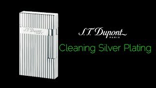 Cleaning Silver Plating How To Guide on S.T. Dupont Ligne 2 Lighter 2019