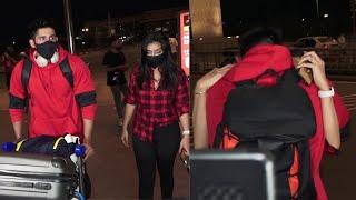 Khatron Ke Khiladi 11: Varun Sood leaves for Capetown, Girlfriend Divya Aggarwal आई See Off करने