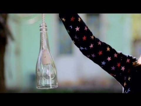 Светильник из бутылки своими руками - Дача 3.05.2014