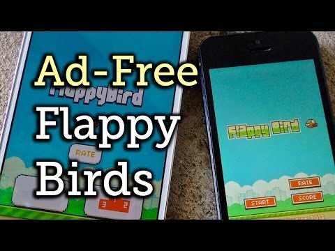 Get Rid Of All The Ads In Flappy Birds For Android Or IOS [How-To]