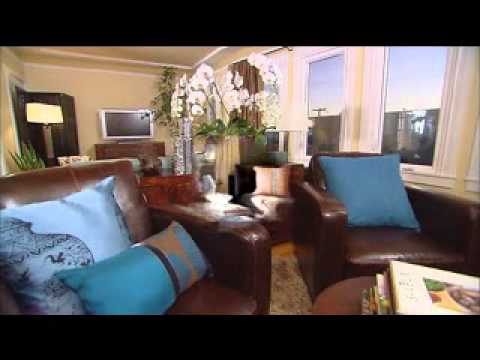 Good Brown and teal living room ideas - YouTube
