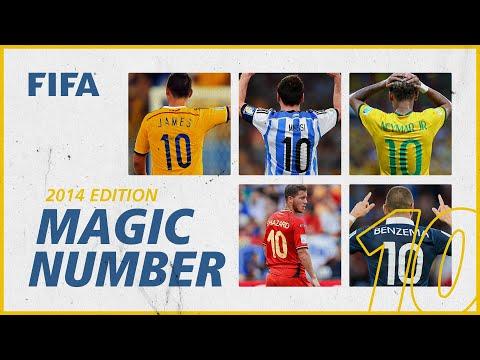 Lionel Messi, Neymar & more! | No10s at Brazil 2014 | Magic Number