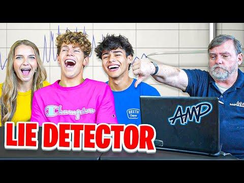 Lie Detector Test on Lexi Rivera & Andrew Davila!! - Amp World