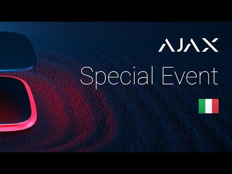 Ajax Special Event 2020. Italiano