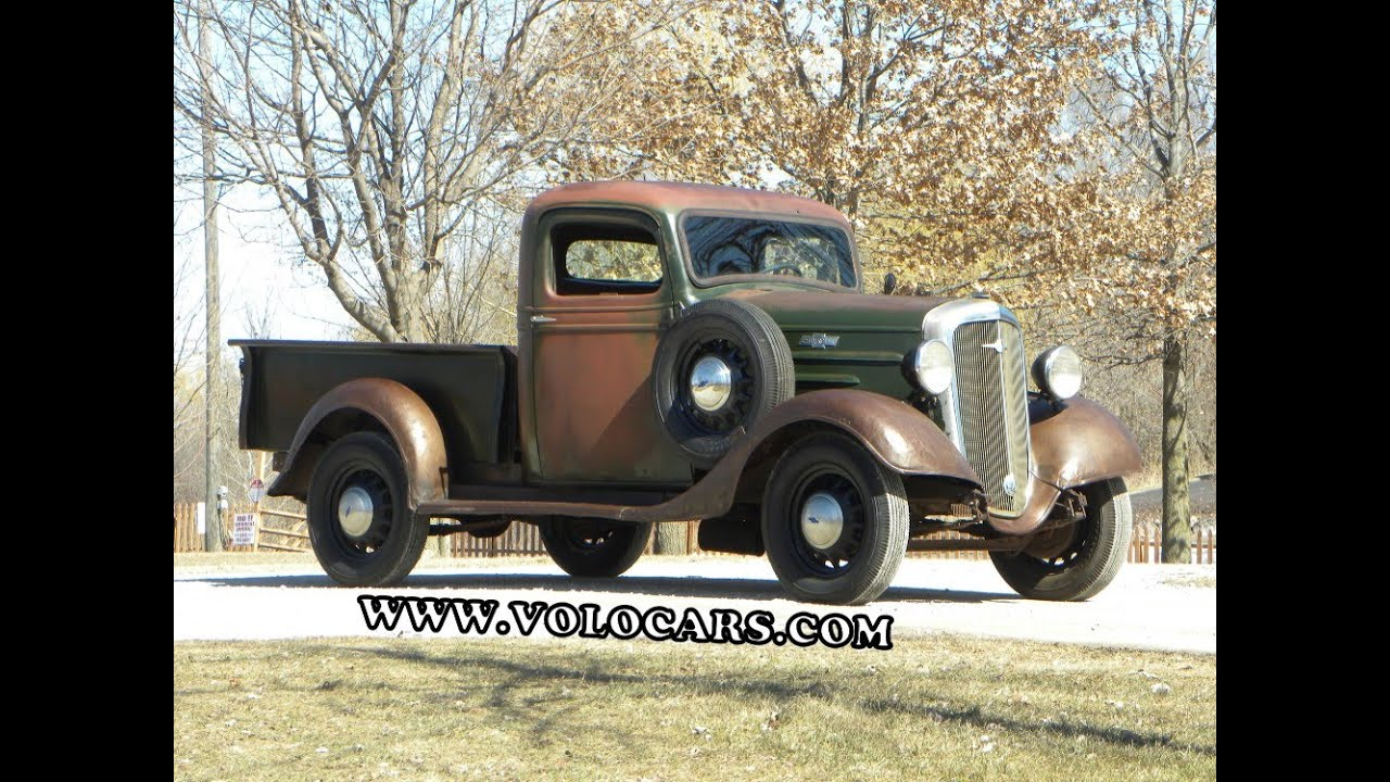 One Ton Truck >> 1936 Chevrolet Pickup - YouTube