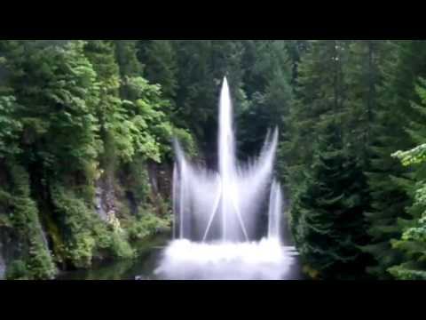 Ross fountain the butchart gardens victoria bc youtube - What time does victoria gardens close ...
