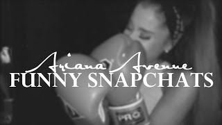 Ariana Grande | Funny Snapchat Moments