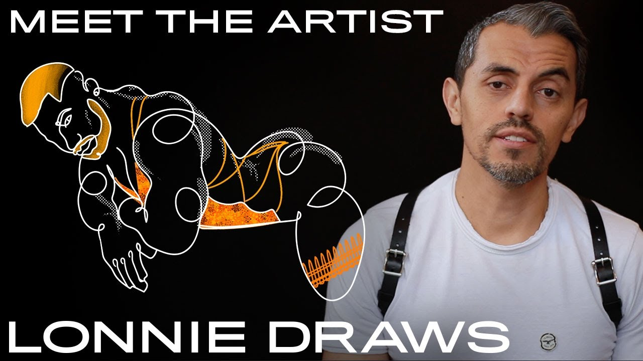 Lonnie Draws  — Meet the Artist & Illustrator