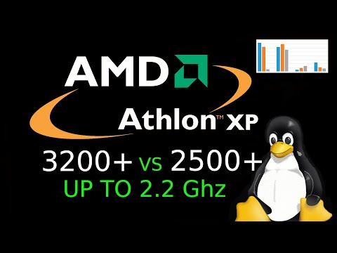 Athlon XP 3200+ Vs 2500+ в разгоне до 2200 Mhz и выше