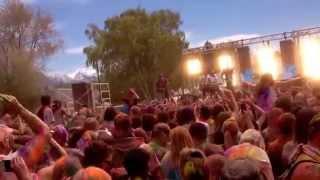 Andy Grammer Utah Holi Colour Festival