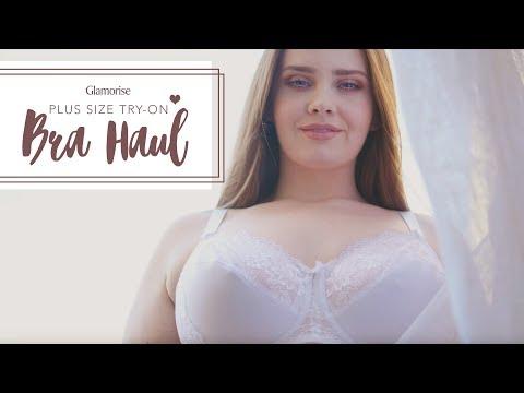 Plus Size Bra Haul - Glamorise Bras | Hayley Herms #ad